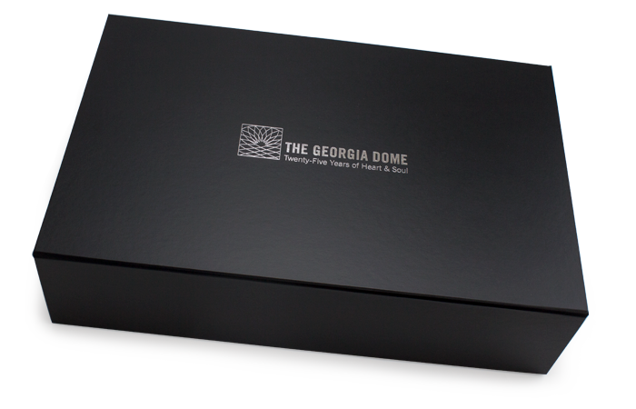 Magnetic box for The Georgia Dome