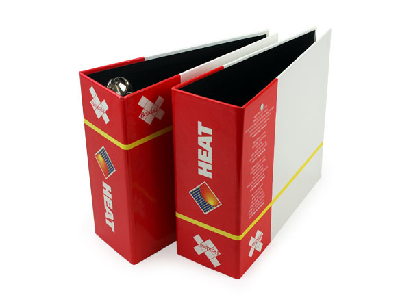 Custom Turned Edge Catalog Binders