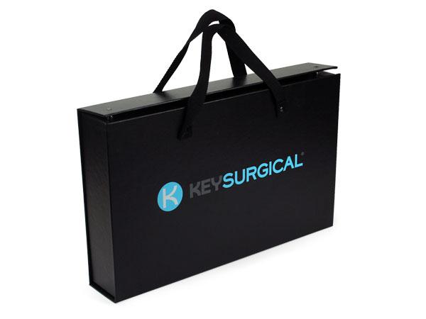 Custom screen printed medical handle box