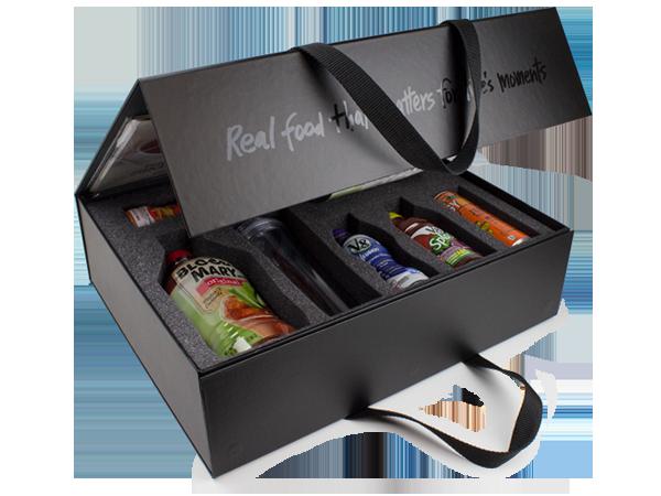Premium promo packaging